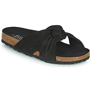 Schoenen Dames Leren slippers Bullboxer 504000E1C Zwart