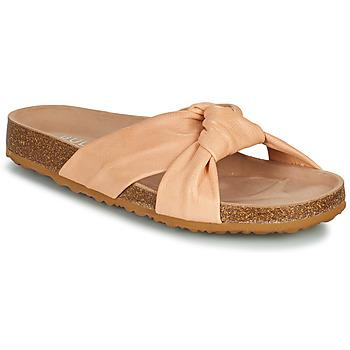Schoenen Dames Leren slippers Bullboxer 504000E1L Roze