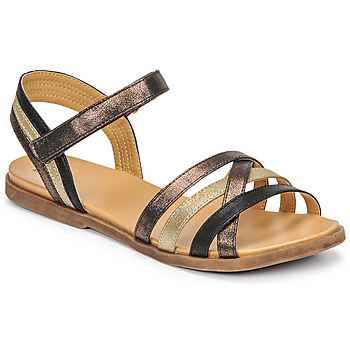 Schoenen Meisjes Sandalen / Open schoenen Bullboxer ALM003F1S-ROSE Zwart