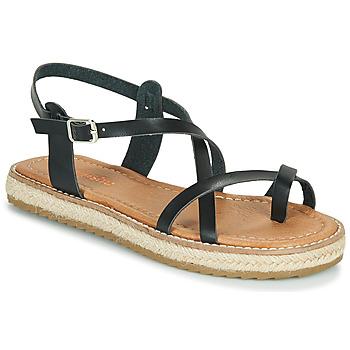 Schoenen Dames Sandalen / Open schoenen Emmshu ALTHEA Zwart