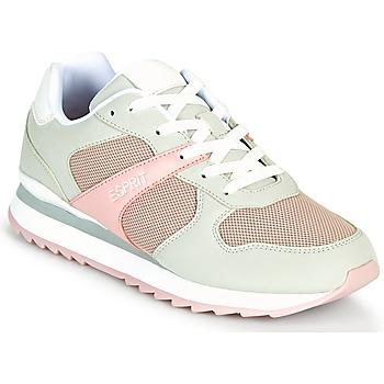 Schoenen Dames Lage sneakers Esprit AMBRO Groen / Roze
