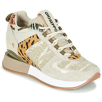 Schoenen Dames Lage sneakers Gioseppo PATERSON Beige / Kaki