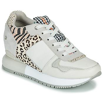 Schoenen Dames Lage sneakers Gioseppo OVERLAND Wit / Zwart