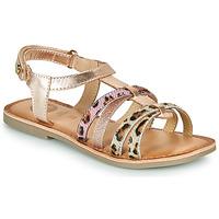 Schoenen Meisjes Sandalen / Open schoenen Gioseppo PALMYRA Roze / Goud