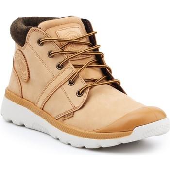 Schoenen Heren Hoge sneakers Palladium Pallaville HI Cuff L 05160-280-M brown