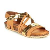 Schoenen Dames Sandalen / Open schoenen IgI&CO DREZZINA Cognac / Goud