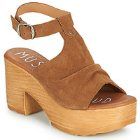 Schoenen Dames Sandalen / Open schoenen Musse & Cloud FOXY Cognac