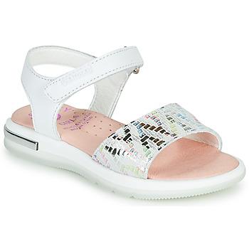 Schoenen Meisjes Sandalen / Open schoenen Pablosky CAMMI Wit / Multi