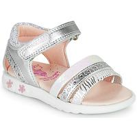 Schoenen Meisjes Sandalen / Open schoenen Pablosky ELLO Zilver