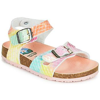 Schoenen Meisjes Sandalen / Open schoenen Pablosky MULTI Multicolour