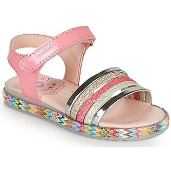 Schoenen Meisjes Sandalen / Open schoenen Pablosky PANNI Roze