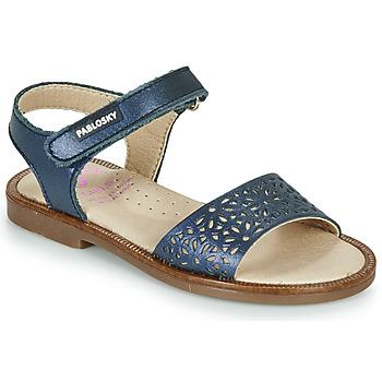 Schoenen Meisjes Sandalen / Open schoenen Pablosky LILLA Marine