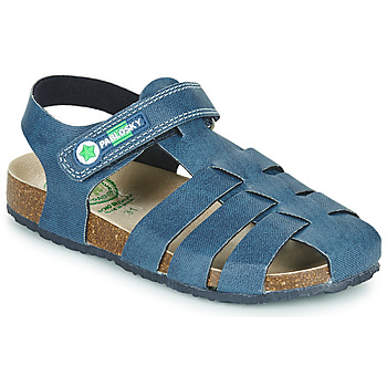 Schoenen Jongens Sandalen / Open schoenen Pablosky DAMMI Blauw