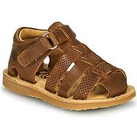 Schoenen Jongens Sandalen / Open schoenen Citrouille et Compagnie MISTIGRI Camel