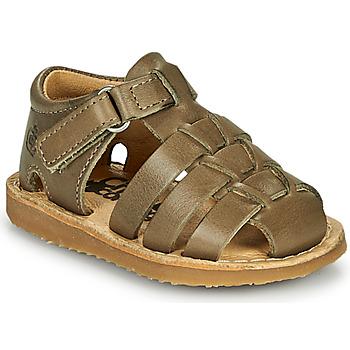 Schoenen Jongens Sandalen / Open schoenen Citrouille et Compagnie MISTIGRI Kaki