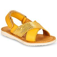 Schoenen Meisjes Sandalen / Open schoenen Citrouille et Compagnie OVETTE Geel
