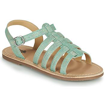 Schoenen Meisjes Sandalen / Open schoenen Citrouille et Compagnie MAYANA Turquoize