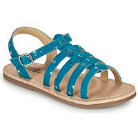 Schoenen Meisjes Sandalen / Open schoenen Citrouille et Compagnie MAYANA Blauw