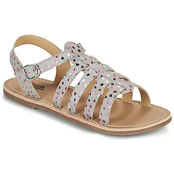 Schoenen Meisjes Sandalen / Open schoenen Citrouille et Compagnie MAYANA Grijs