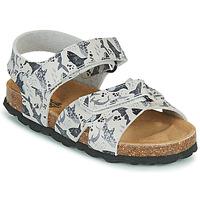 Schoenen Jongens Sandalen / Open schoenen Citrouille et Compagnie OMAYO Grijs