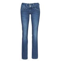 Textiel Dames Straight jeans Pepe jeans GEN Blauw