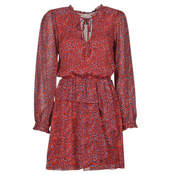 Textiel Dames Korte jurken Pepe jeans LULIS Rood / Blauw