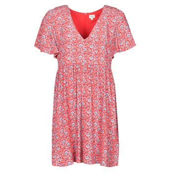 Textiel Dames Korte jurken Pepe jeans CAROLINA Rood / Blauw