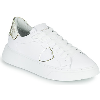 Schoenen Dames Lage sneakers Philippe Model TEMPLE Wit