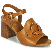 Schoenen Dames Sandalen / Open schoenen See by Chloé HANA SB3406 Cognac