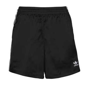 Textiel Dames Korte broeken / Bermuda's adidas Originals SATIN SHORTS Zwart