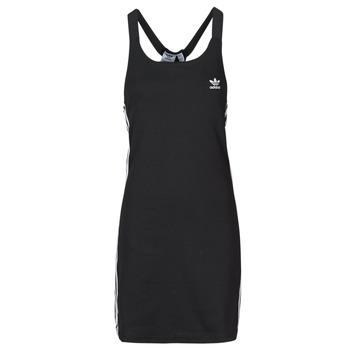 Textiel Dames Korte jurken adidas Originals RACER B DRESS Zwart
