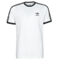 Textiel Heren T-shirts korte mouwen adidas Originals 3-STRIPES TEE Wit