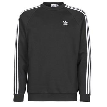 Textiel Heren Sweaters / Sweatshirts adidas Originals 3-STRIPES CREW Zwart
