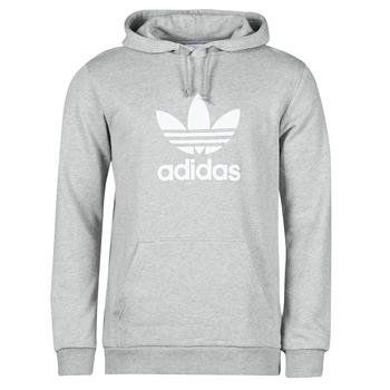 Textiel Heren Sweaters / Sweatshirts adidas Originals TREFOIL HOODIE Grijs