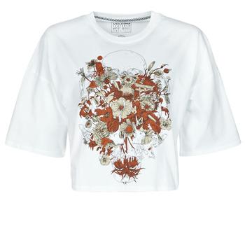 Textiel Dames T-shirts korte mouwen Volcom FA FORTIFEM TEE Wit