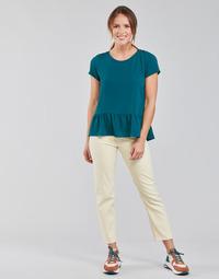 Textiel Dames Straight jeans Lee CAROL Ecru
