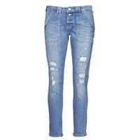 Textiel Dames Boyfriend jeans Le Temps des Cerises CARA Blauw