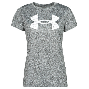 Textiel Dames T-shirts korte mouwen Under Armour TECH TWIST BL SSC Grijs