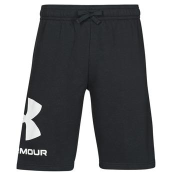 Textiel Heren Korte broeken / Bermuda's Under Armour UA RIVAL FLC BIG LOGO SHORTS Zwart