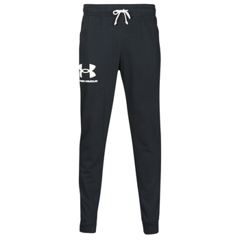 Textiel Heren Trainingsbroeken Under Armour UA RIVAL TERRY JOGGER Zwart