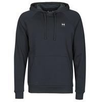 Textiel Heren Sweaters / Sweatshirts Under Armour UA RIVAL FLEECE HOODIE Zwart