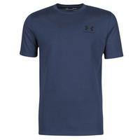 Textiel Heren T-shirts korte mouwen Under Armour UA SPORTSTYLE LC SS Blauw