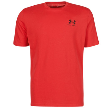 Textiel Heren T-shirts korte mouwen Under Armour UA SPORTSTYLE LC SS Rood