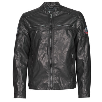 Textiel Heren Wind jackets Petrol Industries JACKET PU BIKER Zwart