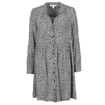 Textiel Dames Lange jurken Esprit ROBE PRINT Zwart