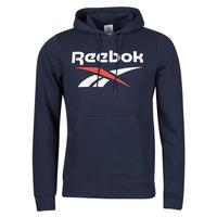 Textiel Heren Sweaters / Sweatshirts Reebok Classic RI FT OTH BL HOODIE Blauw