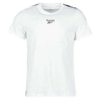 Textiel Heren T-shirts korte mouwen Reebok Classic TE TAPE TEE Wit