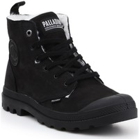 Schoenen Heren Laarzen Palladium Pampa HI ZIP WP M 05982-008-M black