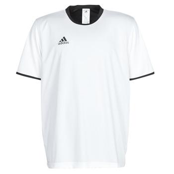 Textiel Heren T-shirts korte mouwen adidas Performance TAN REV JSY Wit