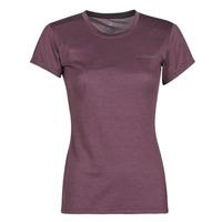 Textiel Dames T-shirts korte mouwen adidas Performance W Tivid Tee Violet
